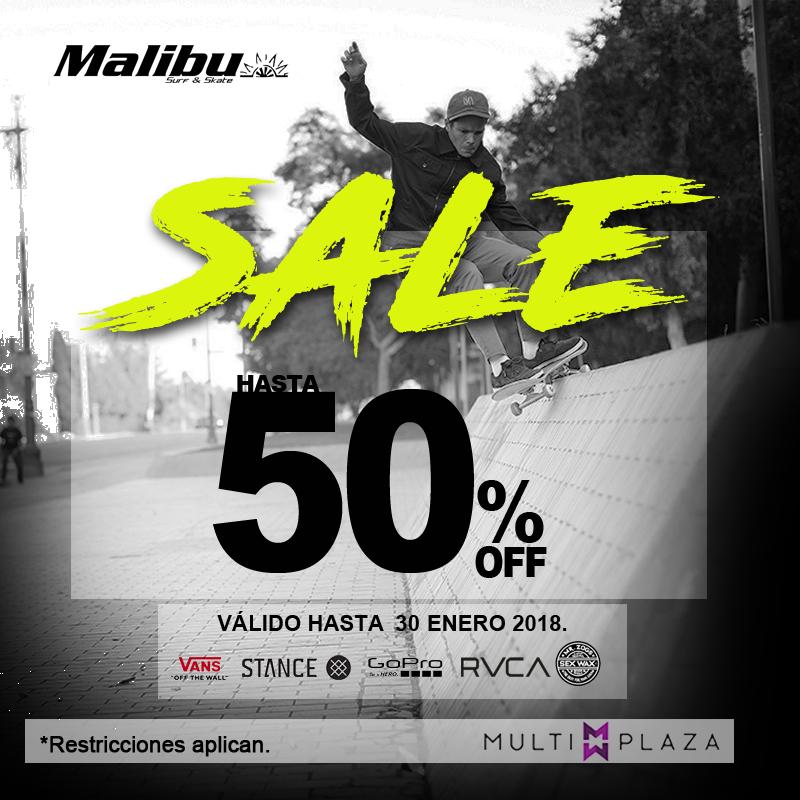 Sale enero   malibu