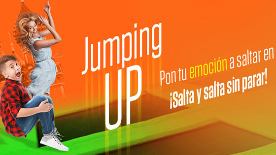 Jumping card